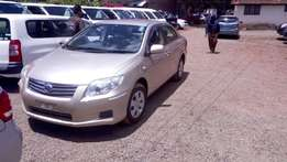 Toyota Axio Brand New 2011 Extremely clean