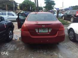 Very clean Honda Accord 2007 used