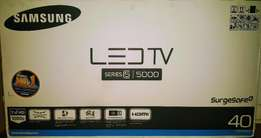 Samsung LED TV 40 series 5000 Full HD. Brand new sealed...
