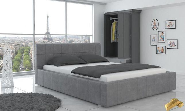 Tapicerowane łóżko Do Sypialni 160x200 Kolory Cała Polska