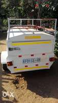 trailer for sale long nose cone with top extention and rack