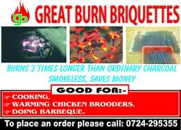 Briquettes for sale