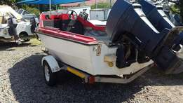 Z Craft Monohull deep sea fishing boat