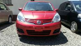 Super clean wine red nissan note 2009 model KCK.Buy on hire-purchase!