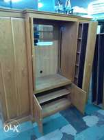 Oak wood tv cabinette