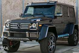 Brand new Mercedes Benz G550 4x4 square 2017 model
