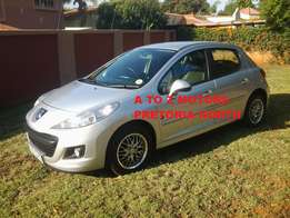 2012 Peugeot 207 1.4 Popart 5 Dr and km's 102441 on the clock