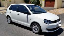 2012 Volkswagen Polo Vivo 1.6 Trendline 5 door Hatchback - White