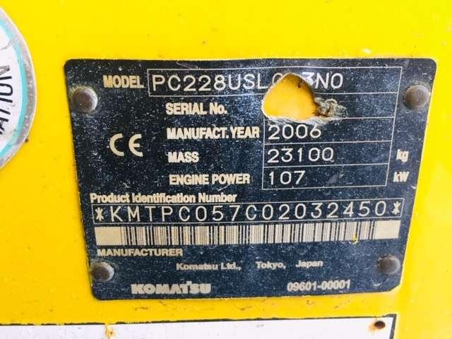 Komatsu Pc 228 Us Lc-3 - 2006 - image 12