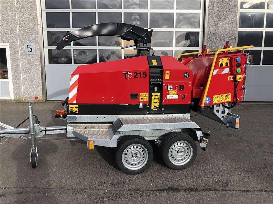 TP 215 Mobil Med Drejekrans Og Easy Control , Klar Ti - 2019