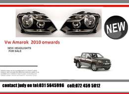 VW Amarok New headlights for sale price:R2350 each