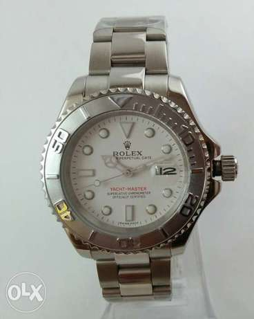 Yacht - Master One Rolex Silver & white First Copy