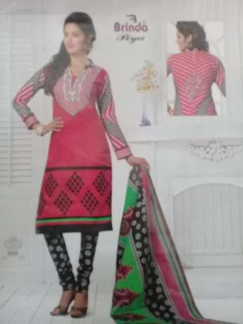 Brinda cotton salwar suit 3 pices Mombasa Island - image 4