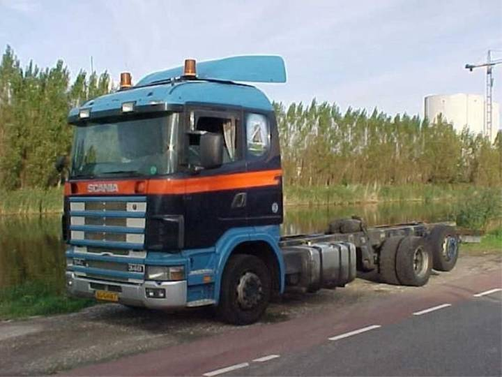 Scania R114 chassis cabine - 1999