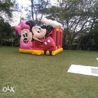 Bouncing castle, trampoline, climbing tower,candyfloss,mascots 4 hire