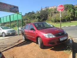 2005 model toyota corolla 140i GLE for sale
