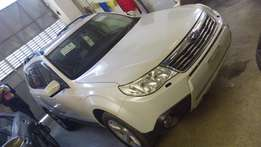 Subaru foresters Pearl white fully loaded broad rims sunroof