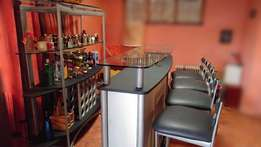 Complete Bar & Chairs