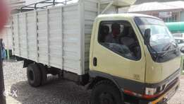mitsubishi canter 4d32 super clean 1997 local high sided body