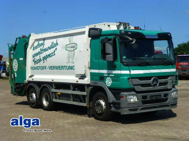 Mercedes-Benz 2532 L Actros, Geesink GPM III V 22H25 + Schutte - 2012