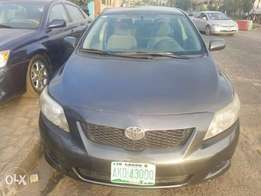 Neat Naija used 2009 Toyota corolla for 2.1m