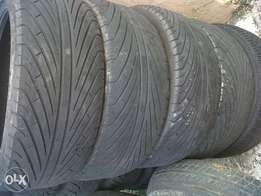 tyres x4. 215/45/17 with good life(take all 1-350)