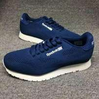 Reebok Star Lace Up Sneakers - Navy Blue