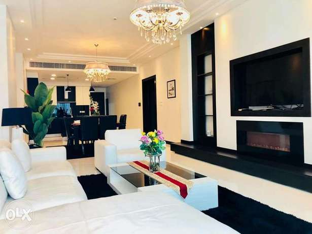 Luxury! Modern, specious 2BR apartment furnished for rent in juffair