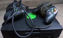 Xbox Console Including Two Pads And All Other Accessories