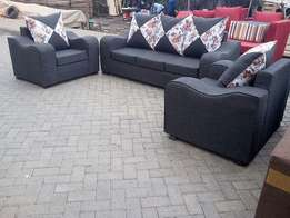 Buy this ready grey 5 seater sofa