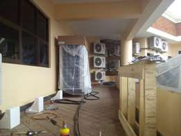Air conditioners,coldrooms,refrigeration,lab-gas installition