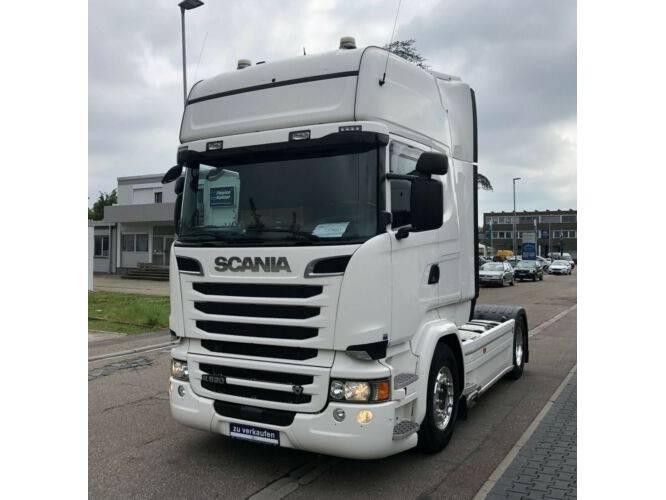 Scania R520 Topline Navi Standklima / Leasing - 2015