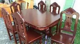 Brit 6 seater dining table