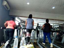 Gym and fitness training