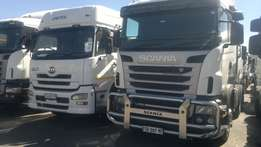 scania R470 and R500 up for sale