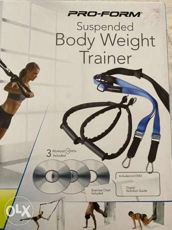 New PRO FORM Suspended Body Weight Trainer