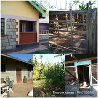 1/2 Acre At Kenol Town For Sale, with a 4bedroomed house