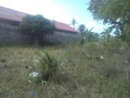 A nice plot of an 1/8 of an acre for sale in bamburi.
