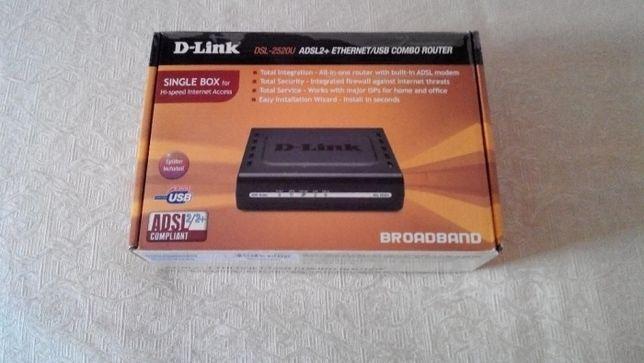 Модем D-Link DSL-2520U  280 грн. - Периферійні пристрої Львів на Olx 765e6f439df0a