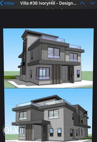 For sale: Stand Alone Villa at New Giza (Ivory Hill) First row overloo