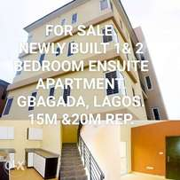 Newly Built 1 & 2 Bedroom Apartment in a Mini Eatate For Sale.