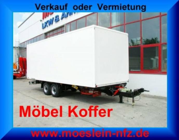 Möslein TKO 105 7m Möbel Tandem- Möbel Koffer- Anhänger- - 2019