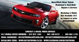 Get your Vehicle Repaired or Service Today or Anyday!