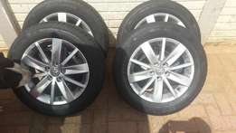 polo tsi mags and tyres for sale
