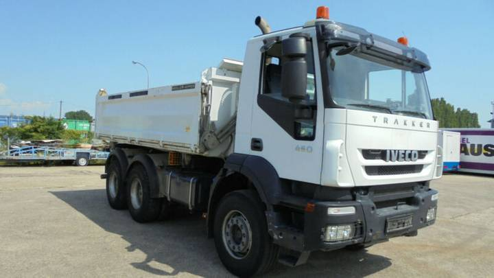 Iveco 260 T 450 TÜV Klima nur 75000 km 1. Hand Meiller - 2010