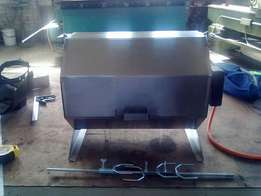 stainless steel gas griller/braai