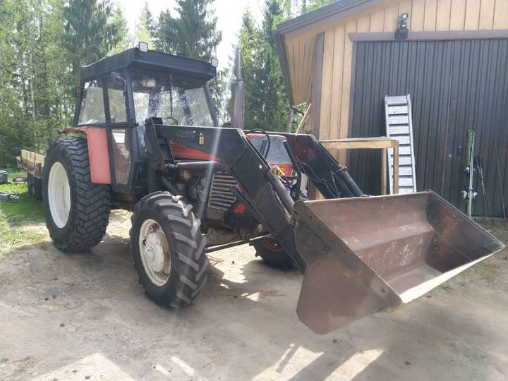 Zetor 8045 Crystal 4x4 - Video - Etukuormaaja - 1980