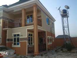 5 Bedroom Duplex with BQ and Security off Adageorge PH