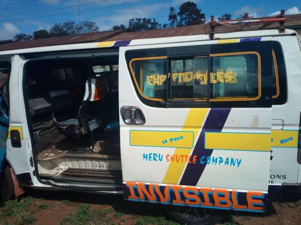Toyota Hiace Operational along Meru -Nrb highway. Thika - image 4