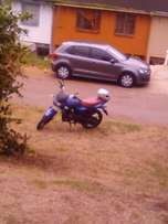125cc bike for sale.with papers